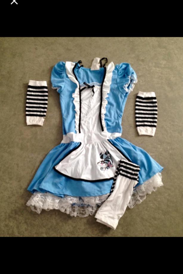 Alice in Wonderland Halloween Costume for Kids