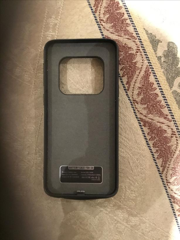 Battery case for Samsung s9