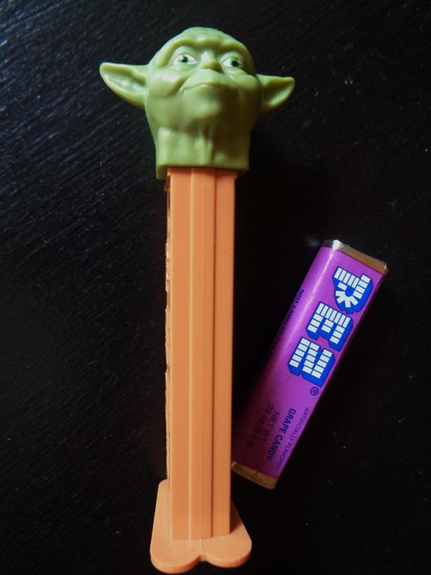 Yoda PEZ Dispenser (Officially Retired)