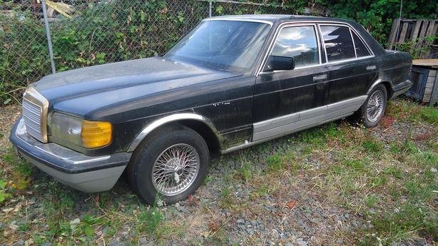 1982 Mercedes 300SD (Diesel)