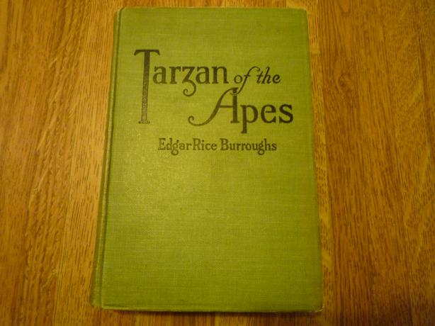 Collectible 2nd Edition of Tarzan of the Apes