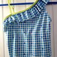 Lands End Girl's Bathing Suit Sz 14 - Like New