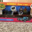 Brand New Batmobile with Batman and Robin