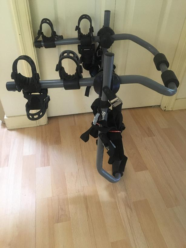 SportRack Pursuit 2-Bike Anti-Sway Bike Rack