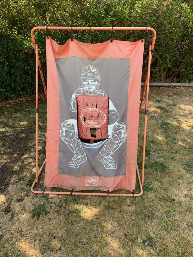 Rawlings Comebacker and Pitching Target Training Net