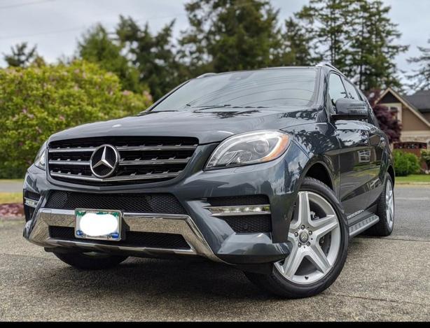 2013 Mercedes ML350 Bluetec