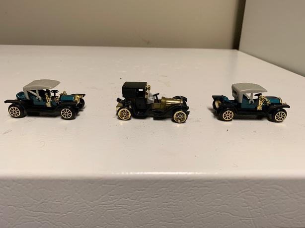 3 mint condition collector toys