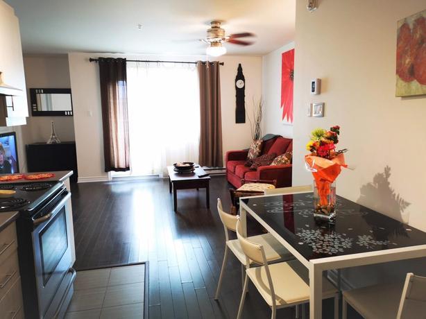 Superb 2 bedroom condo with garage in St-Laurent