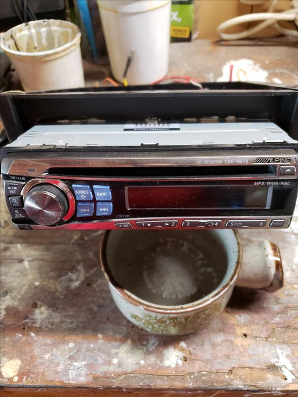 For Sale: Alpine Car Stereo