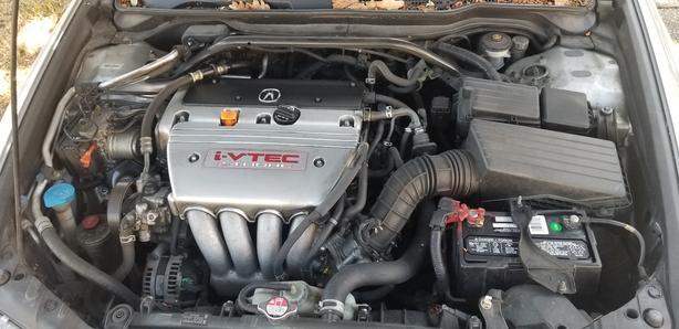 2005 Acura TSX Silver Rebuilt title