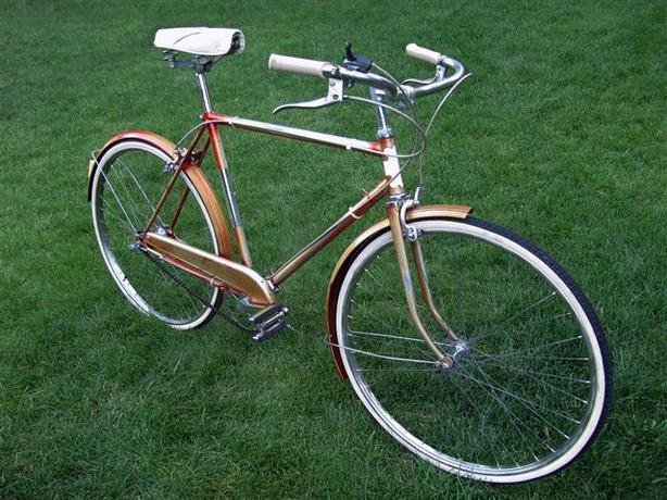 Vintage Czechoslovakian City Bicycle