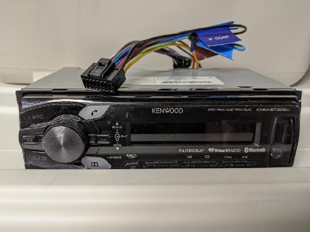Car stereo - Kenwood mechless head unit