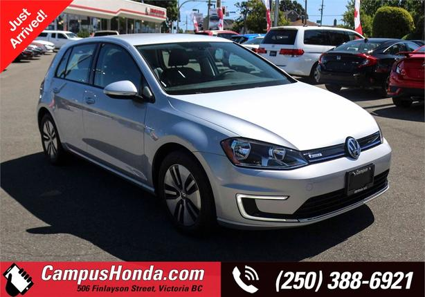2016 Volkswagen E-Golf SE | One Owner | Low KM's | No Accidents