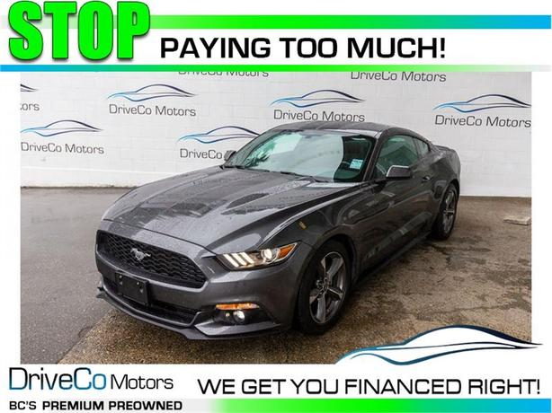 2016 Ford Mustang V6  FASTBACK 1 OWNER BC NO ACCIDENTS