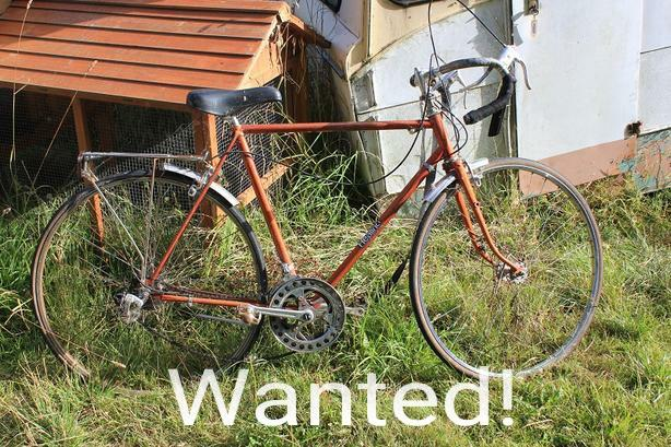 WANTED: Will buy old road bikes...even ones needing work...