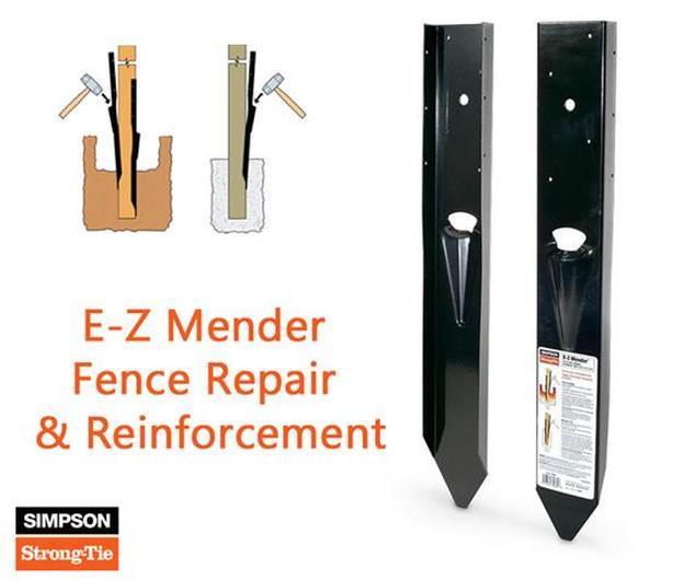 Fence Post Mender ~ Simpson E-Z Mender
