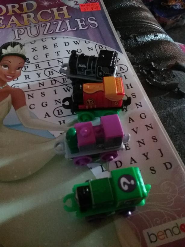 Tomhas toy trains