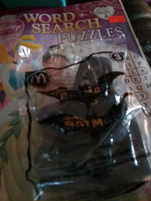 McDonald's batman toy