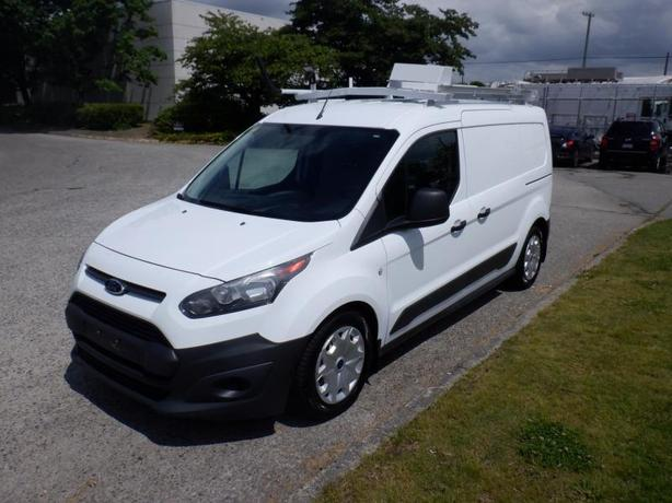 2014 Ford Transit Connect XL Gas and Propane Cargo Van With Rear Shelving And La