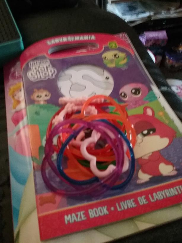 Kids bracelets and toy rings