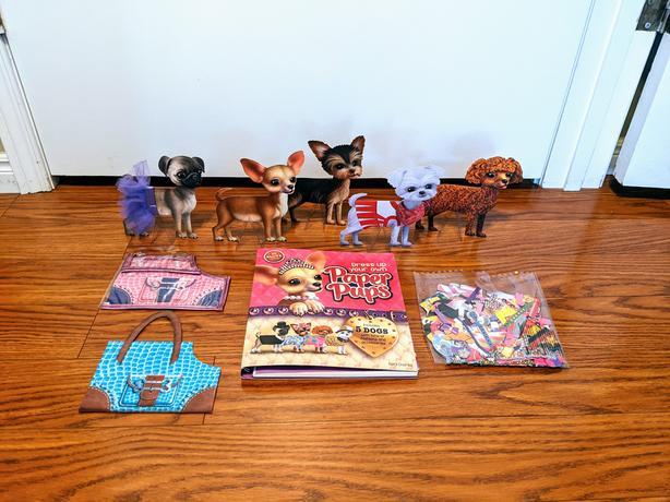 Klutz dress up paper pups book
