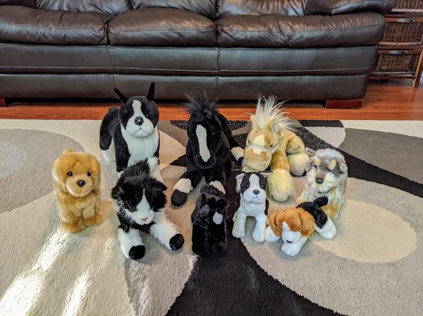 Stuffed animal lot **EXCELLENT CONDITION