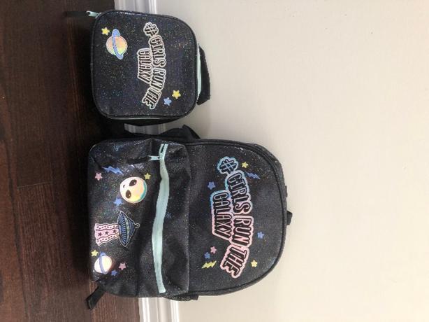 School backpack & lunchbag combo