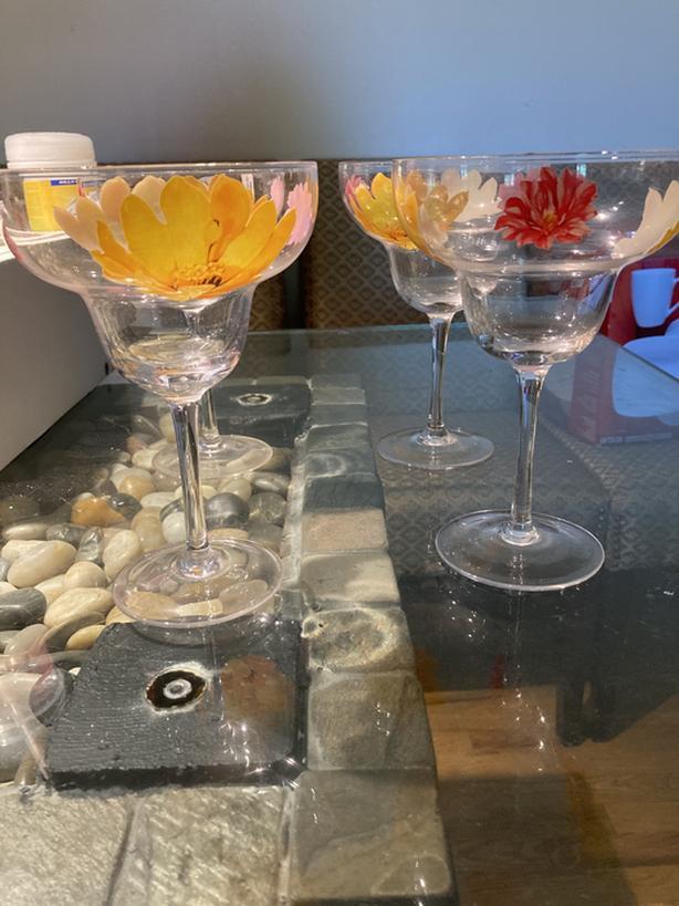 New Margarita/ Drink/ Wine Glasses