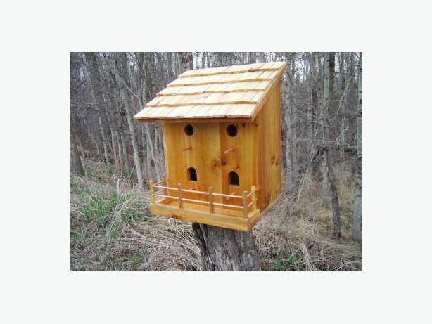 BIRD HOUSE of CEDAR CONSTRUCTION *new*