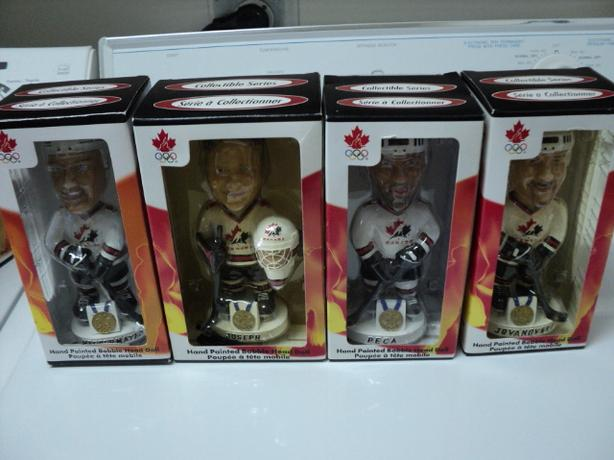 2002 Olympic Hockey Bobbleheads $3 Each (ON HOLD)