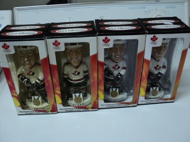 2002 Olympic Hockey Bobbleheads (Lot 2) $3 Each (ON HOLD)
