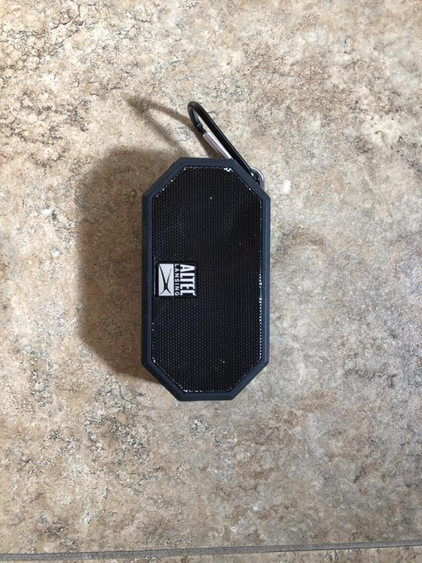 Altec Lansing mini waterproof speaker