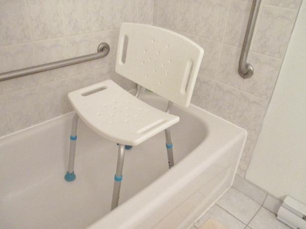 The AquaSense® Adjustable Bath Seat with Backrest