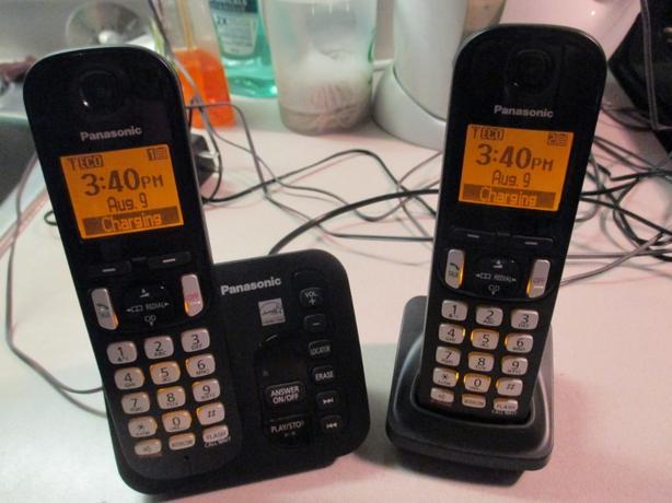 Panasonic Dect 6.0 phones/ans machine