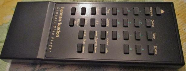 Harman Kardon CD HD7450/HD7500II remote control