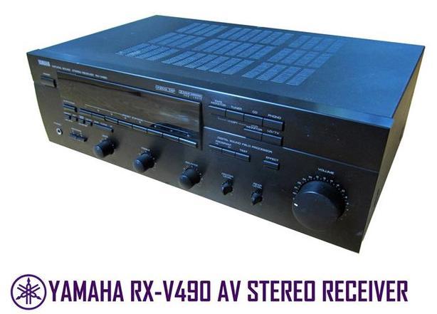 Yamaha RX-V490 Receiver c/w Phono Stage
