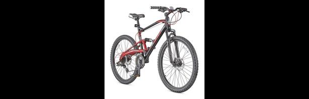 CCM Apex Dual Suspension Mountain Bike + lock + bike bell + helmet