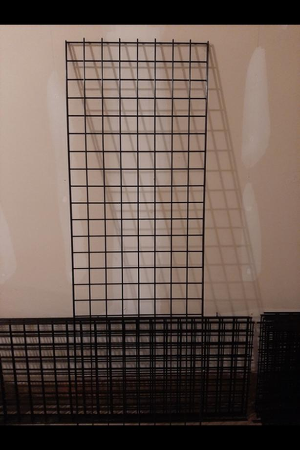 Grid wall panels