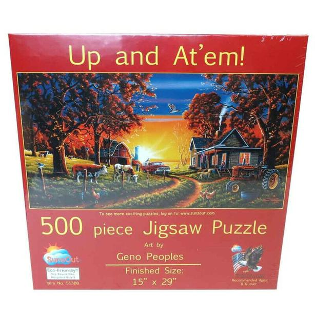 puzzle  ,up and At'em