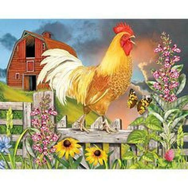 puzzle bits and pieces puzzle studio puzzle yellow rooster