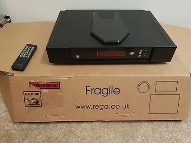 Rega Saturn-R CD Player DAC with Box, Remote, Manual, Cables