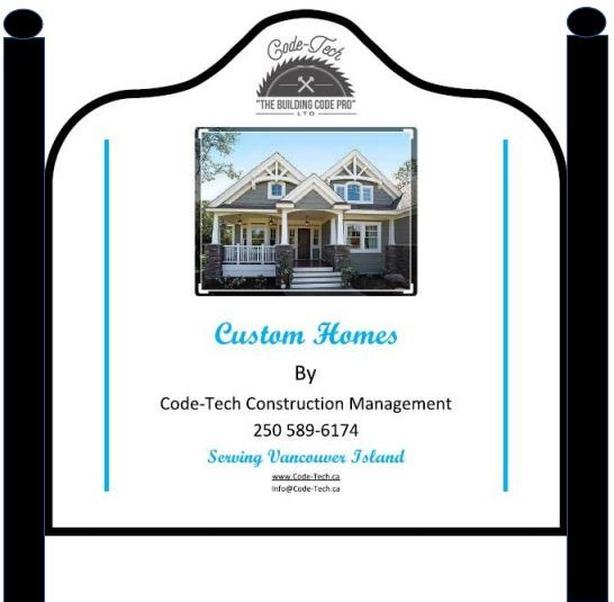 Construction Management/Home builder/Vicoria BC