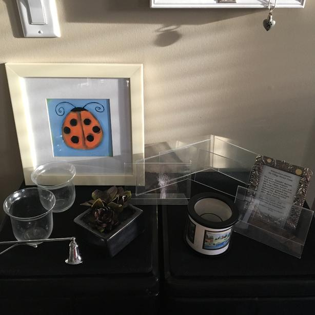 Frames, candles