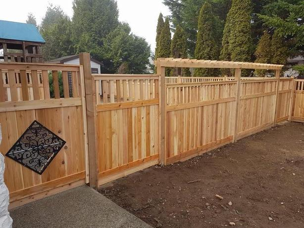 ***WE ARE OPEN*** CEDAR FENCE PANEL LOCALLY BUILT