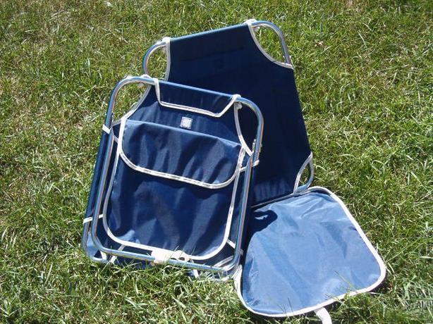 chair  beach mat, two fold-able chairs