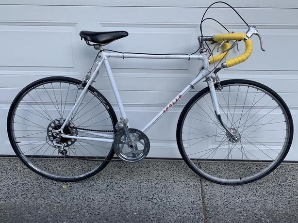 Mint Condition Rare White Apollo Road Bike *Immaculate Shape*