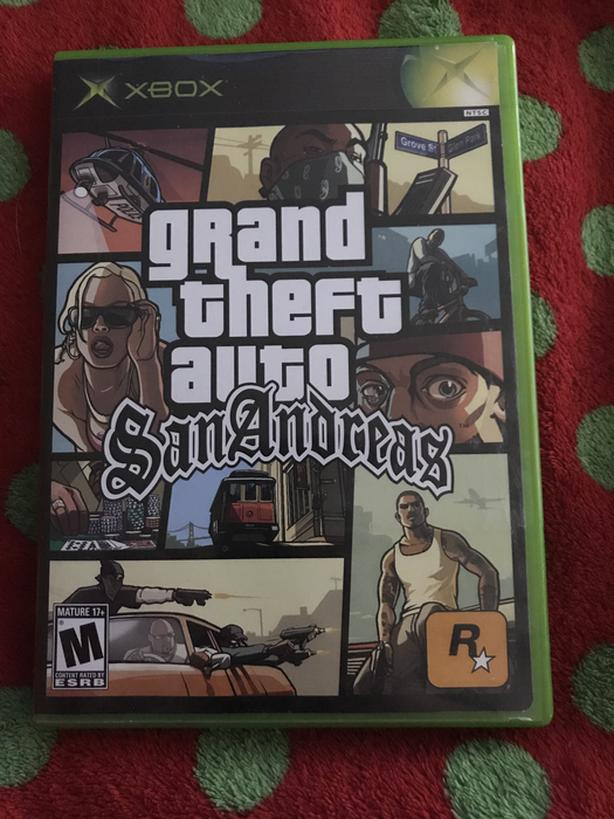 Grand Theft Auto - San Andreas for XBOX One and XBOX 360