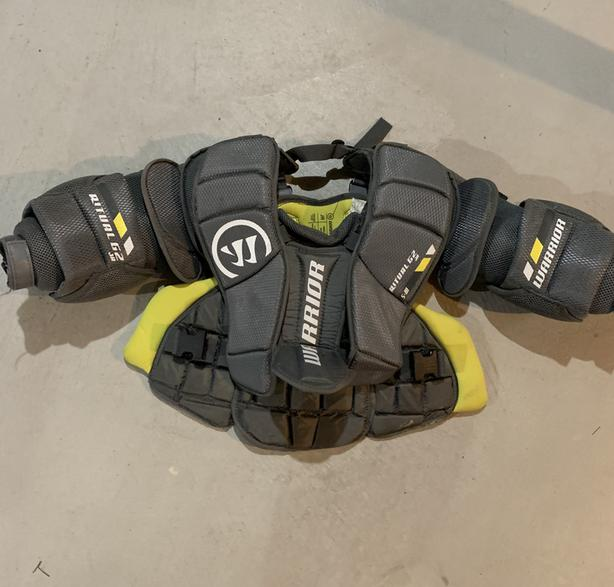 Hockey goalie chest protector