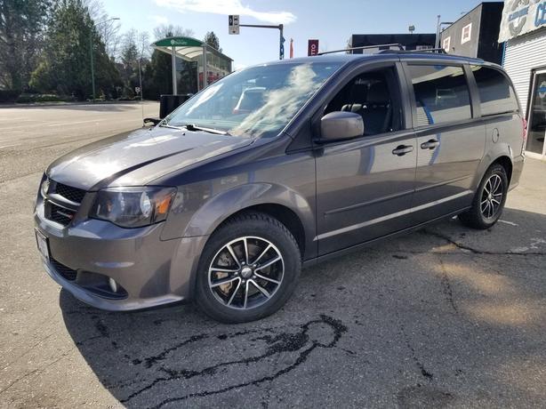 2017 Dodge Grand Caravan GT Navigation-DVD-Leather-Power Sliding Doors FWD