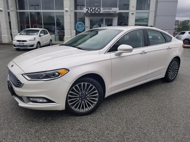 2017 Ford Fusion SE AWD Navigation-Leather-Sunroof-All Wheel Drive AWD
